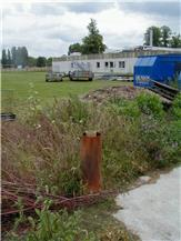 David Macdonald BGS © NERC, 2004, a borehole which may potentially be infilled