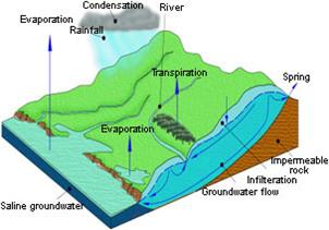 BGS © NERC 1998 - groundwater in the hydrological cycle